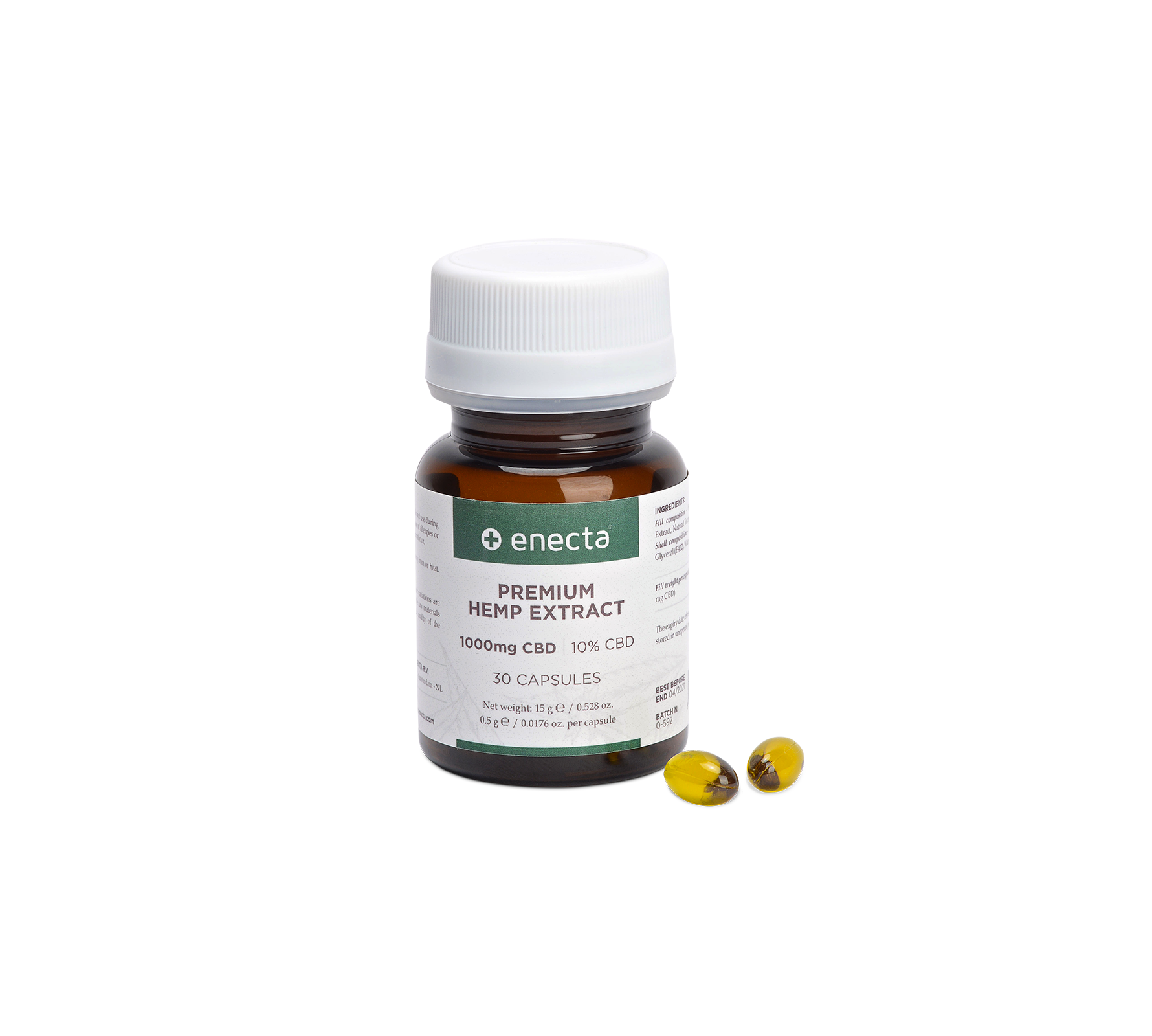 Enecta Premiumhempextract Pills Packaging Desktop Detail Hd 1780×1600