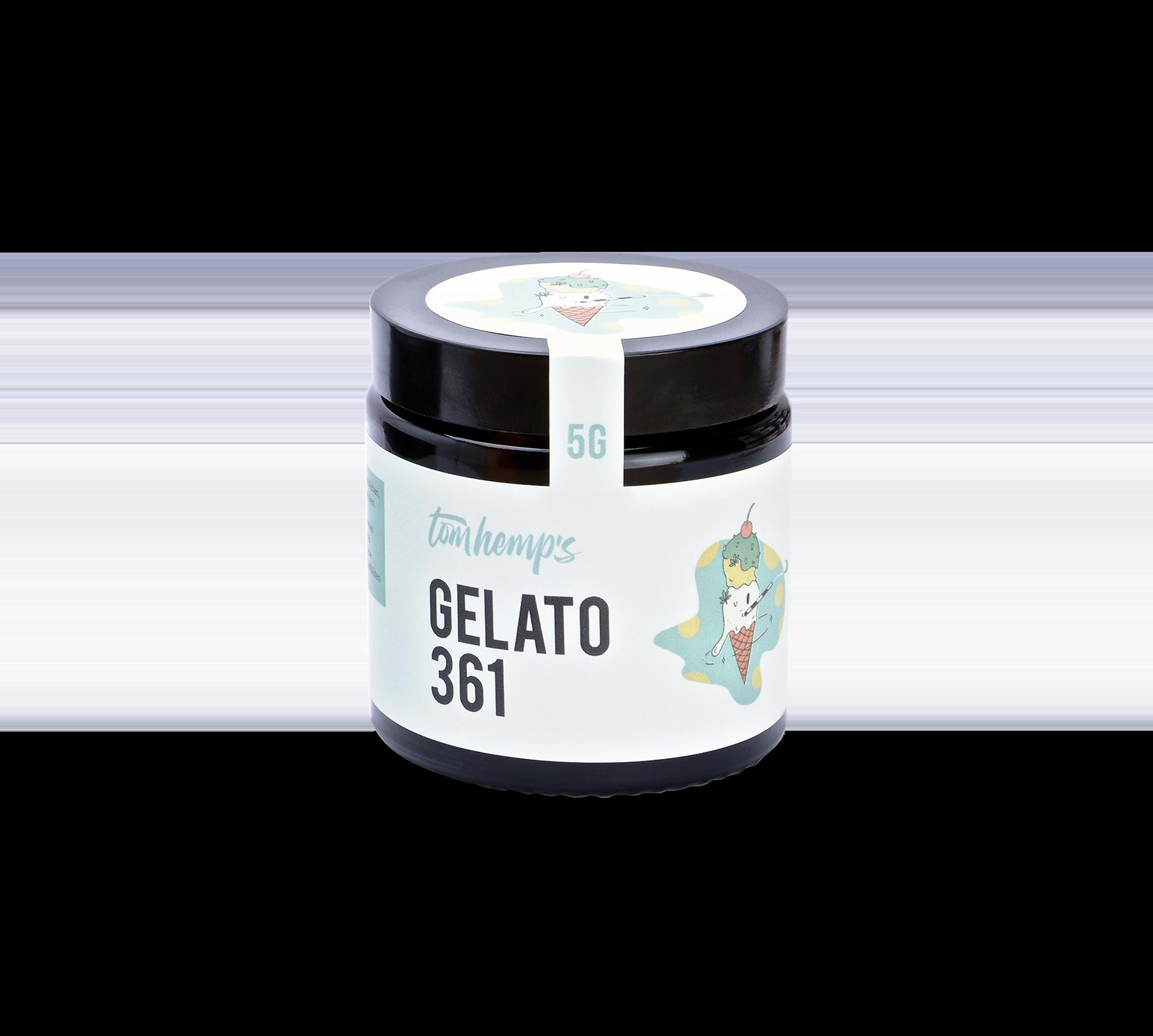 CBD Aromablüten Gelato 361