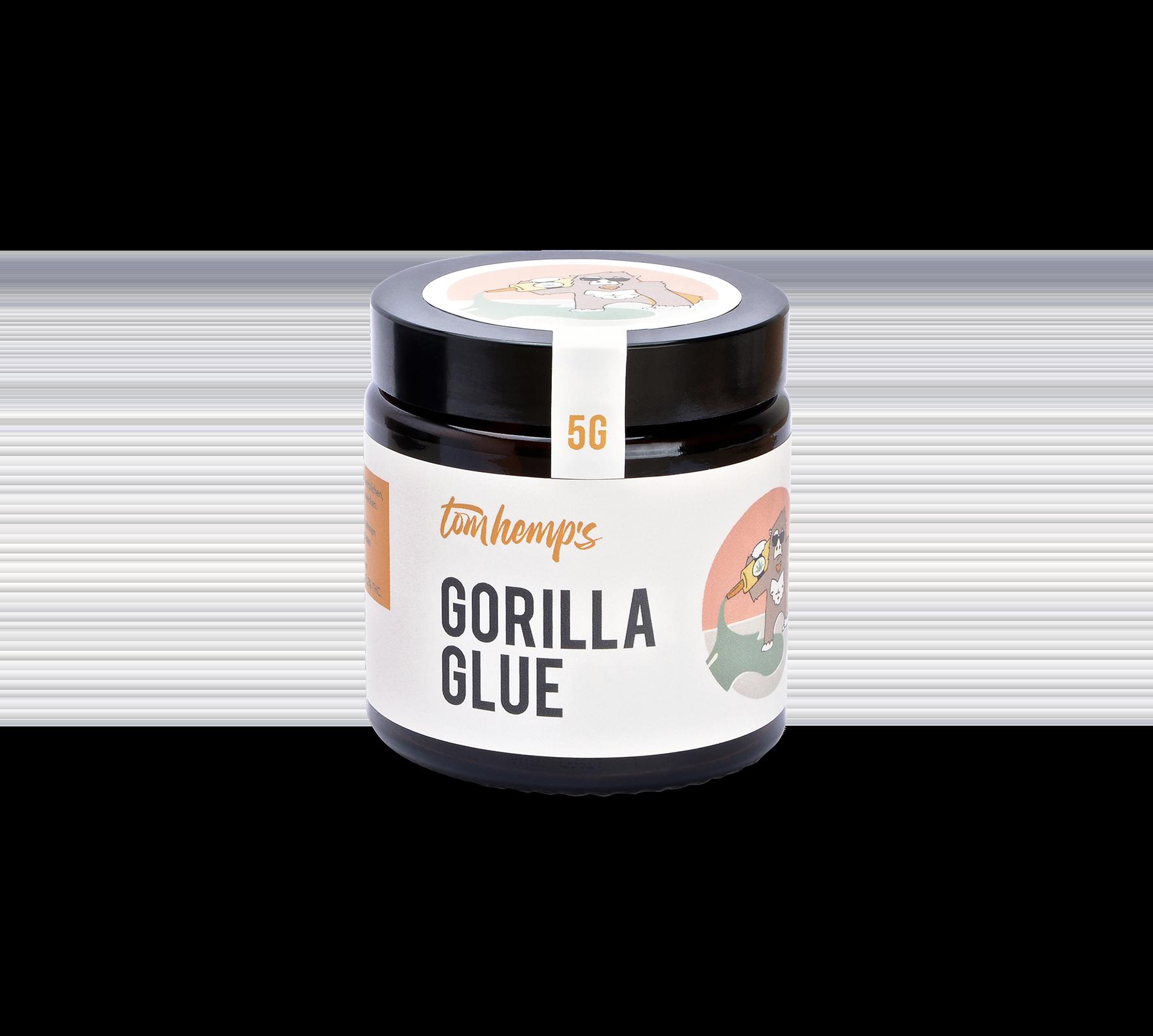 Flores aromáticas de CBD Gorilla Glue