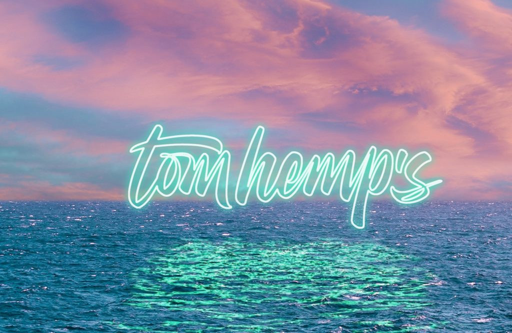 Tom Hemps Header Logo Clouds
