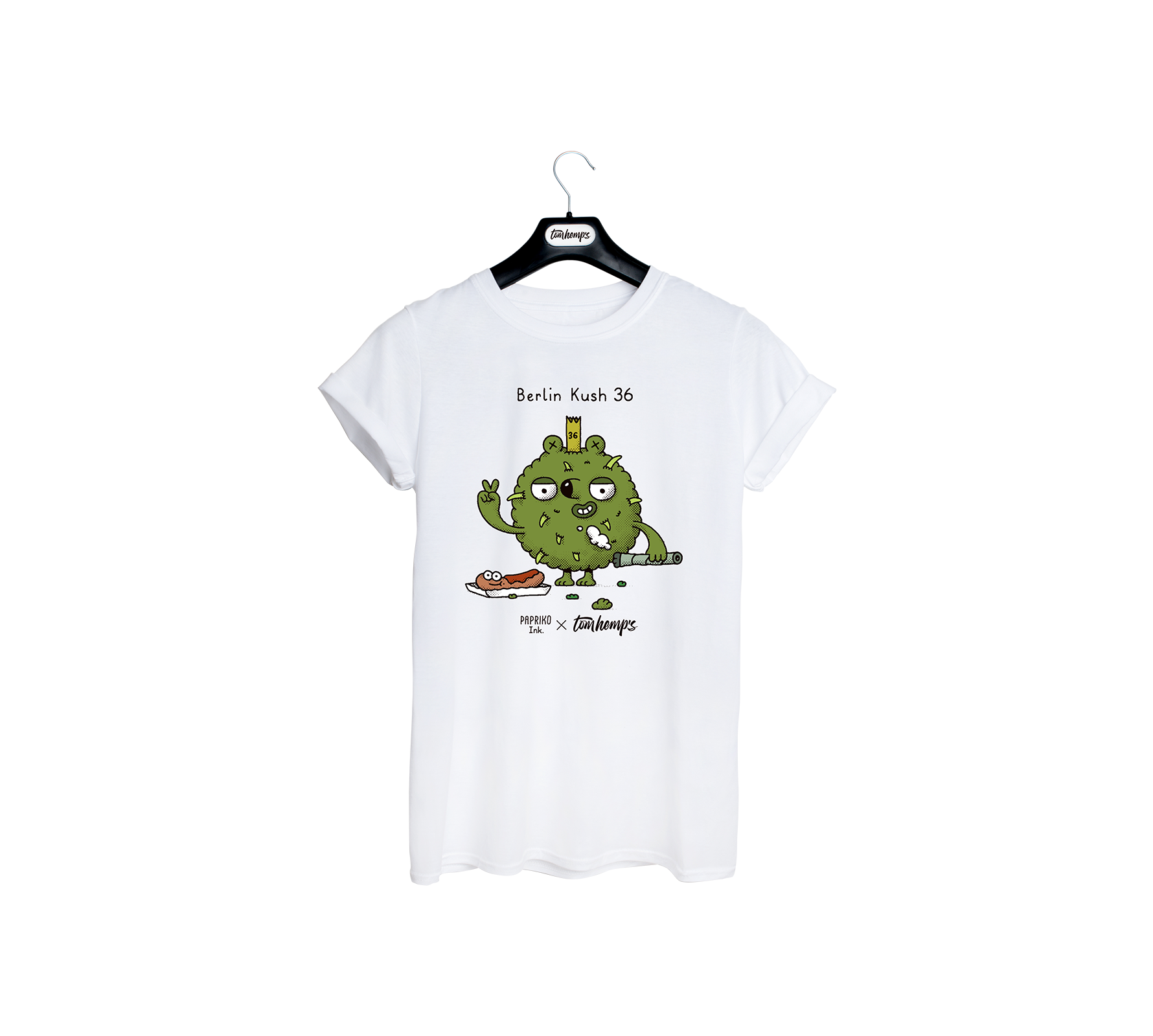 T-Shirt Papriko ink Berlin Kush 36
