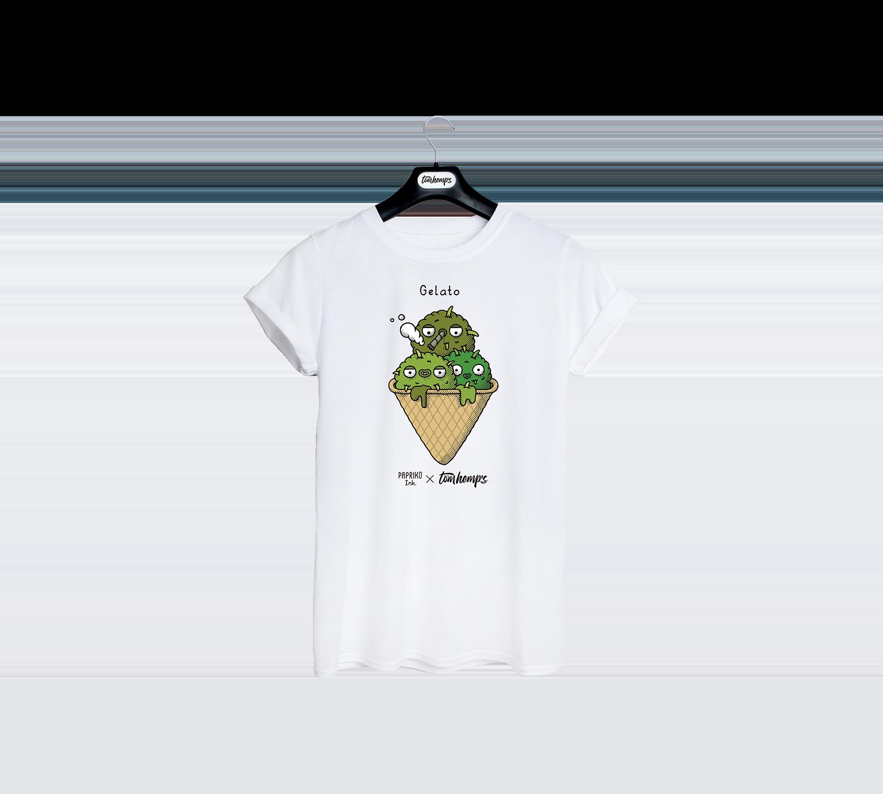 T-Shirt Papriko ink Gelato