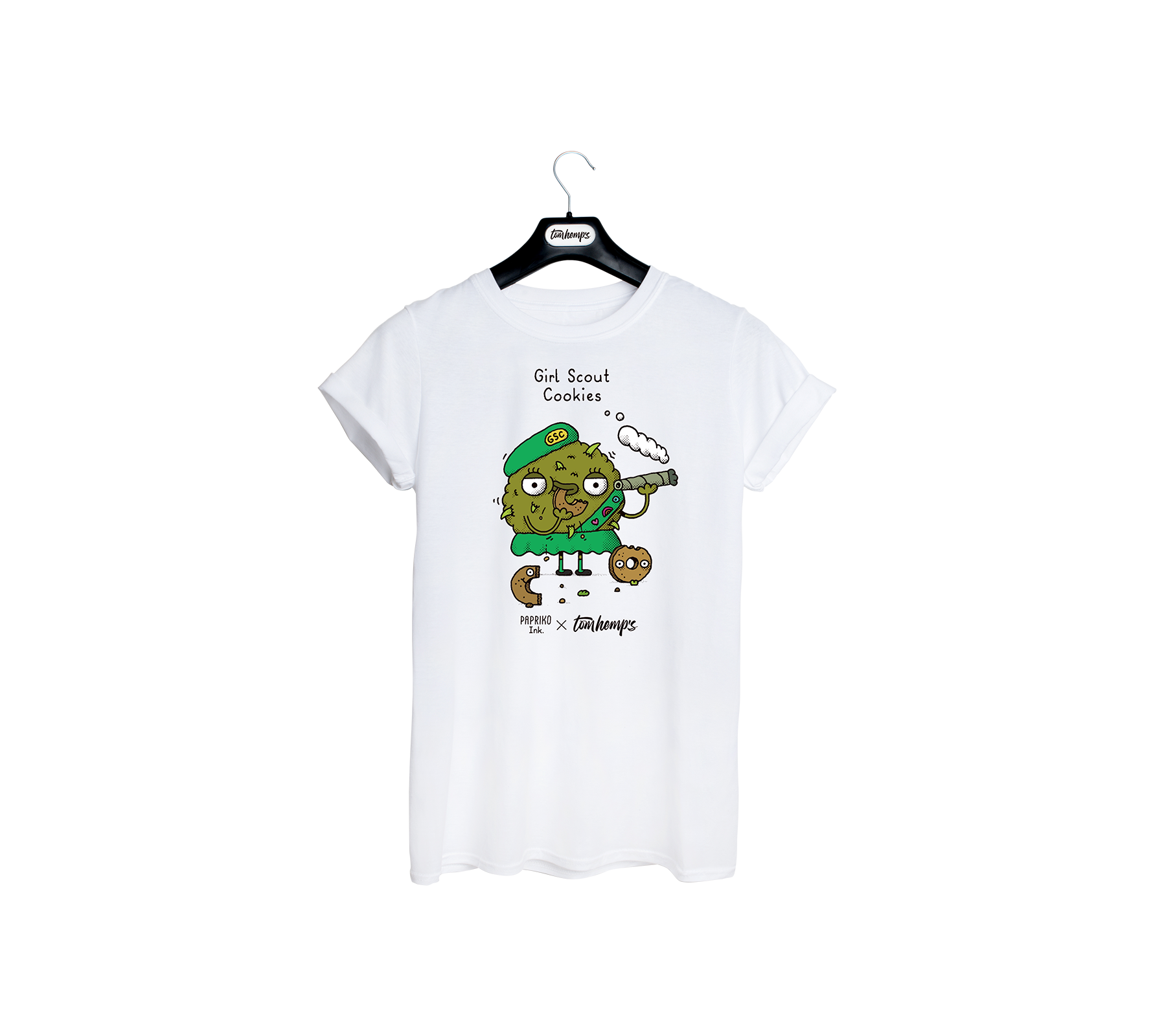 T-Shirt Papriko ink Girl Scout Cookies