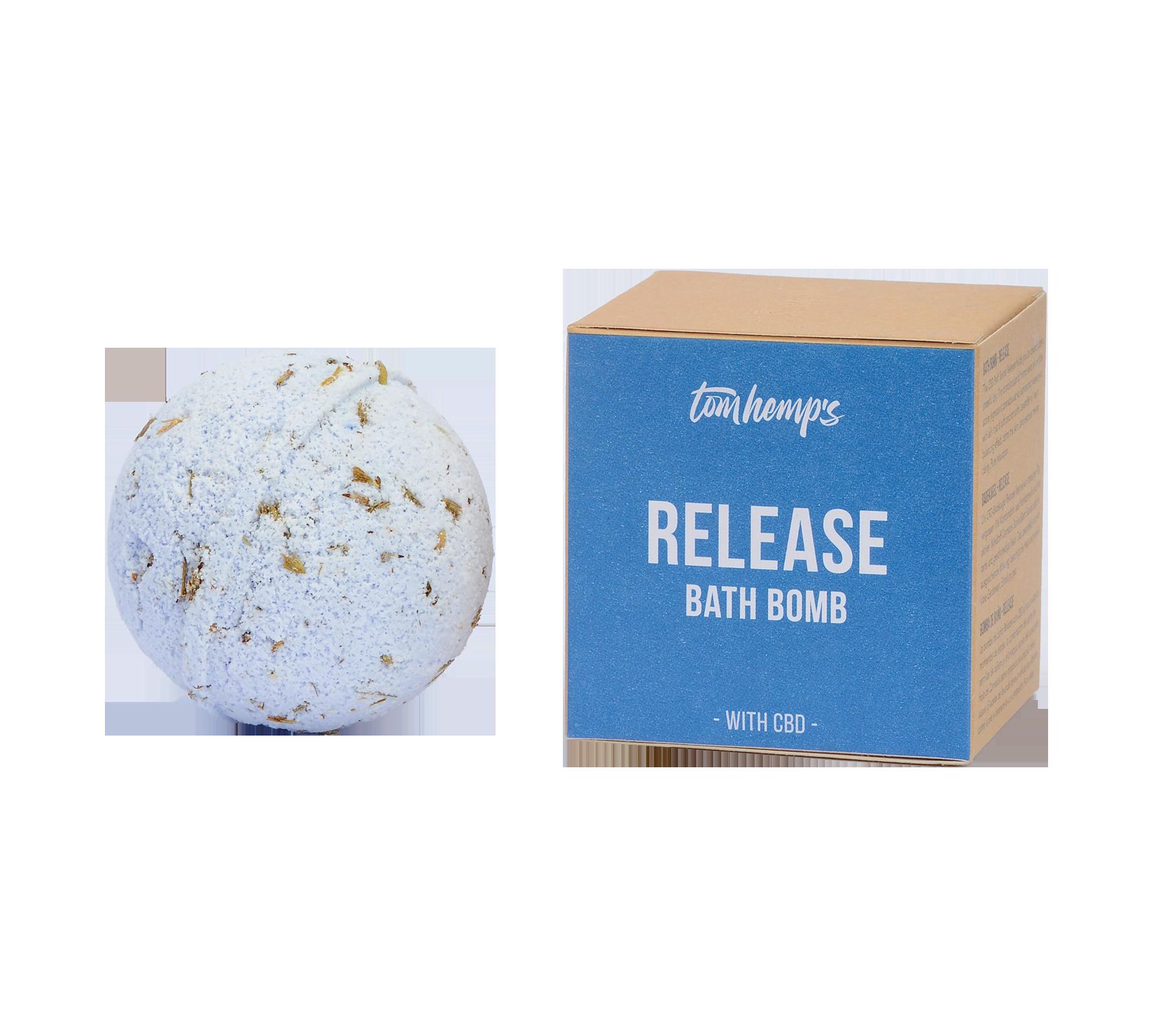 CBD Bath Bomb Release