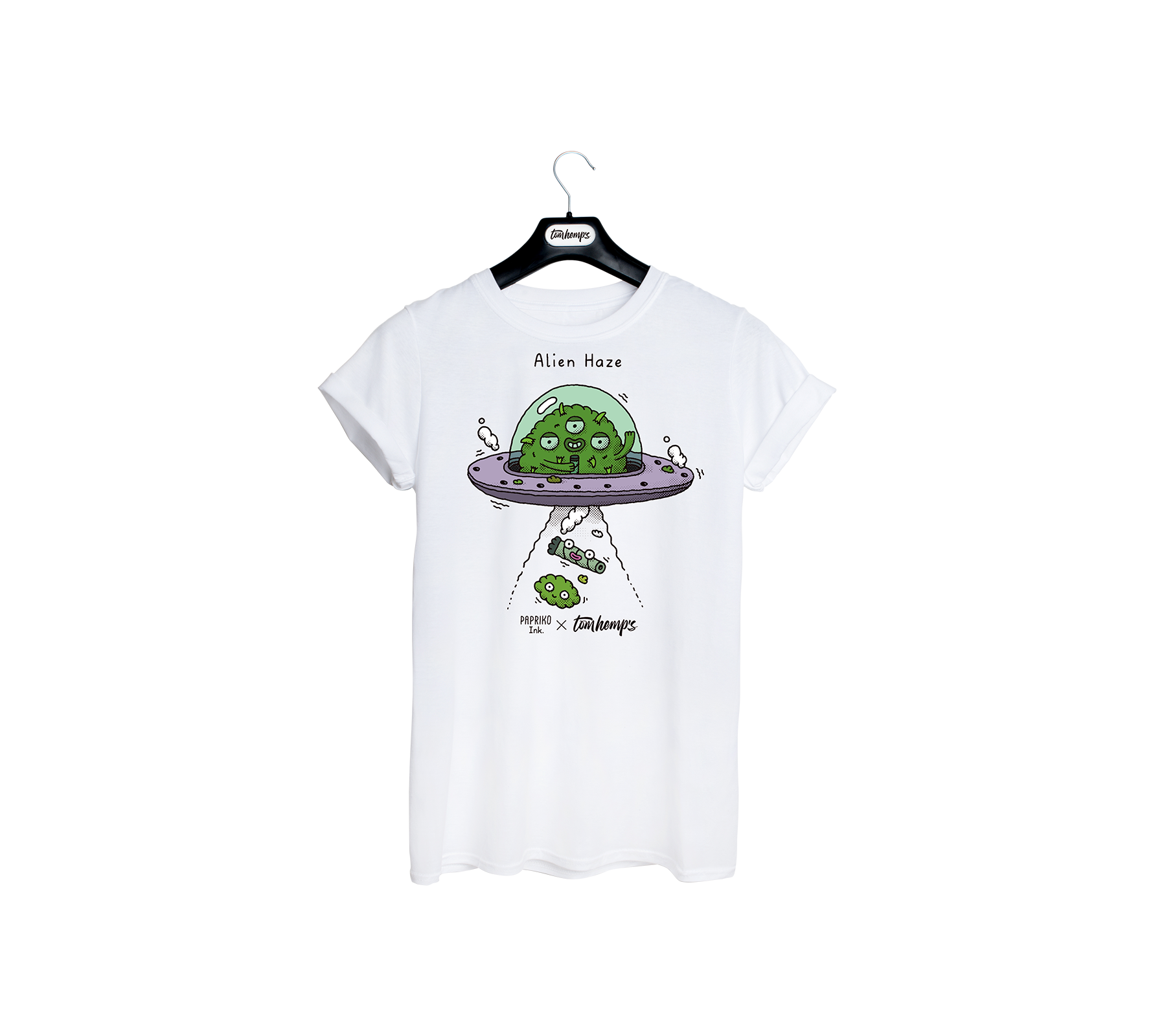 T-Shirt Papriko ink Alien Haze