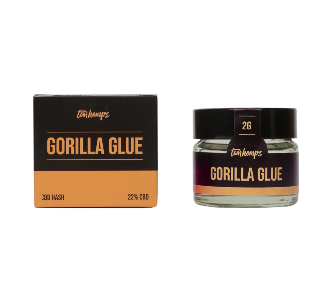 Tom Hemps Product Well Being Hash Gorilla Glue