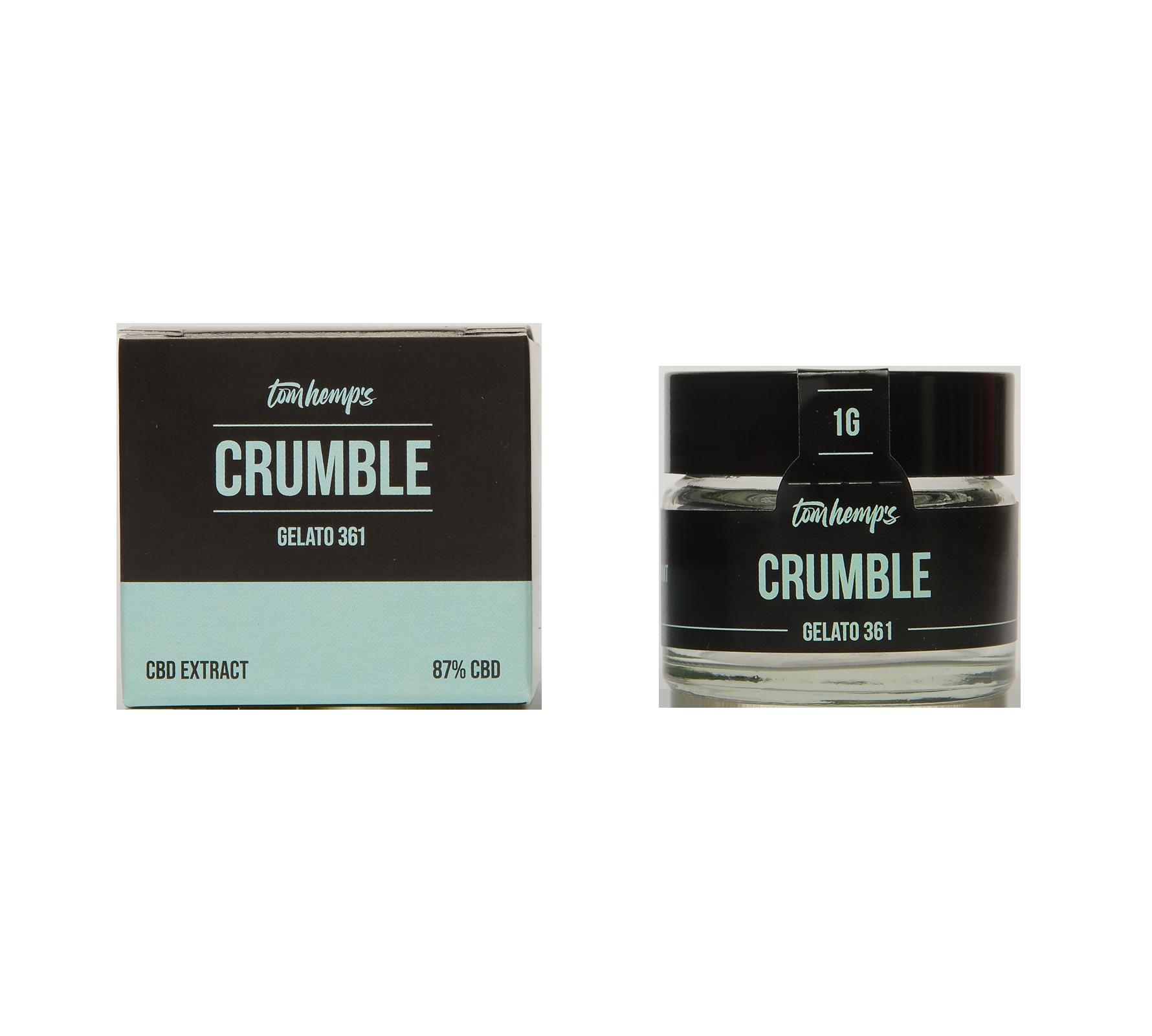 CBD Crumble 87% Gelato 361