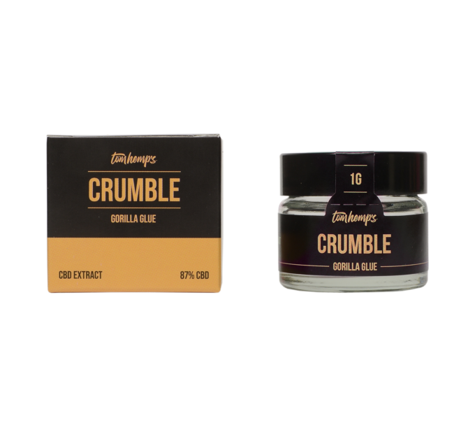 Tom Hemps Product Well Being Crumble Gorilla Glue