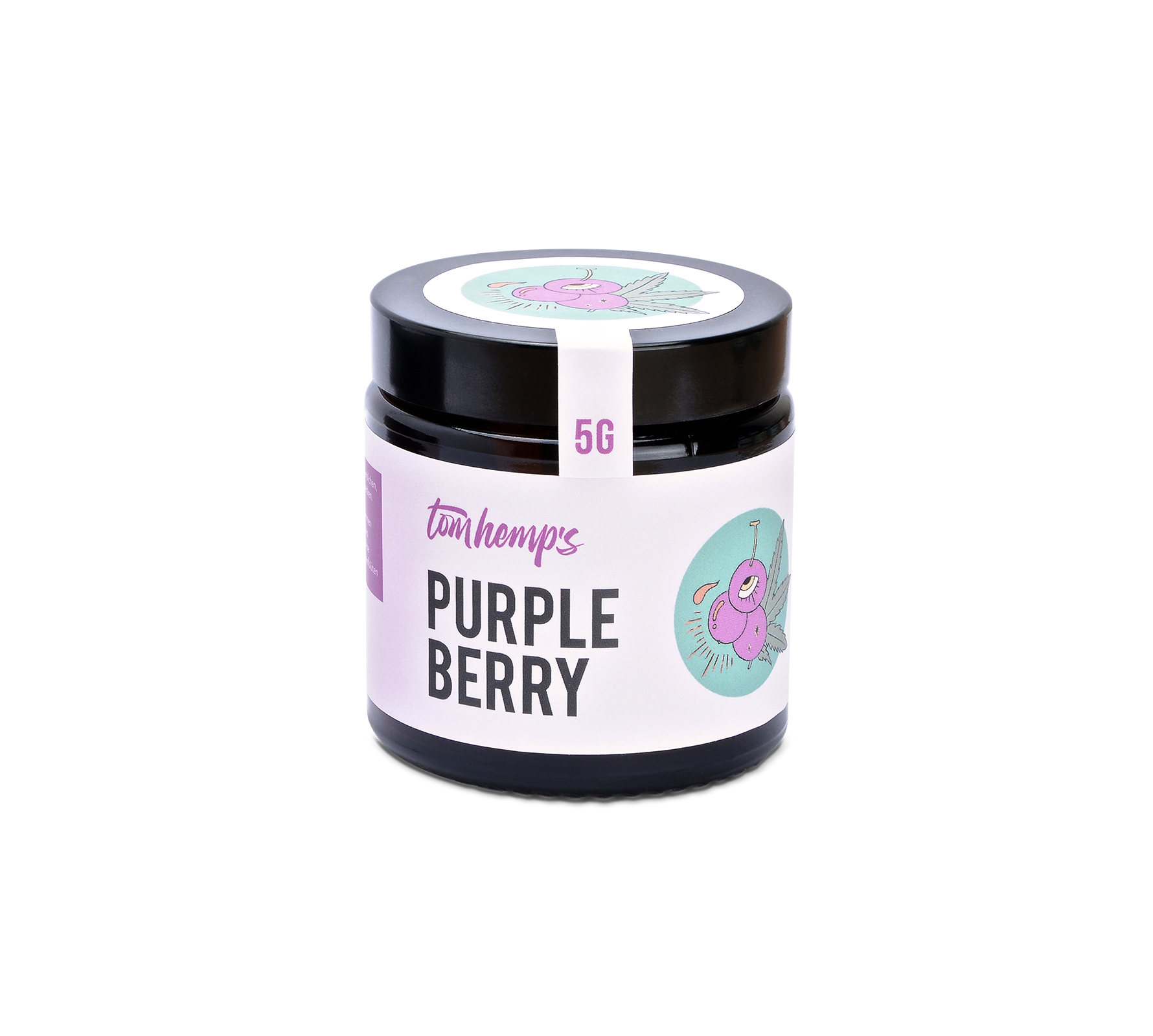 Flor de CBD Purple Berry