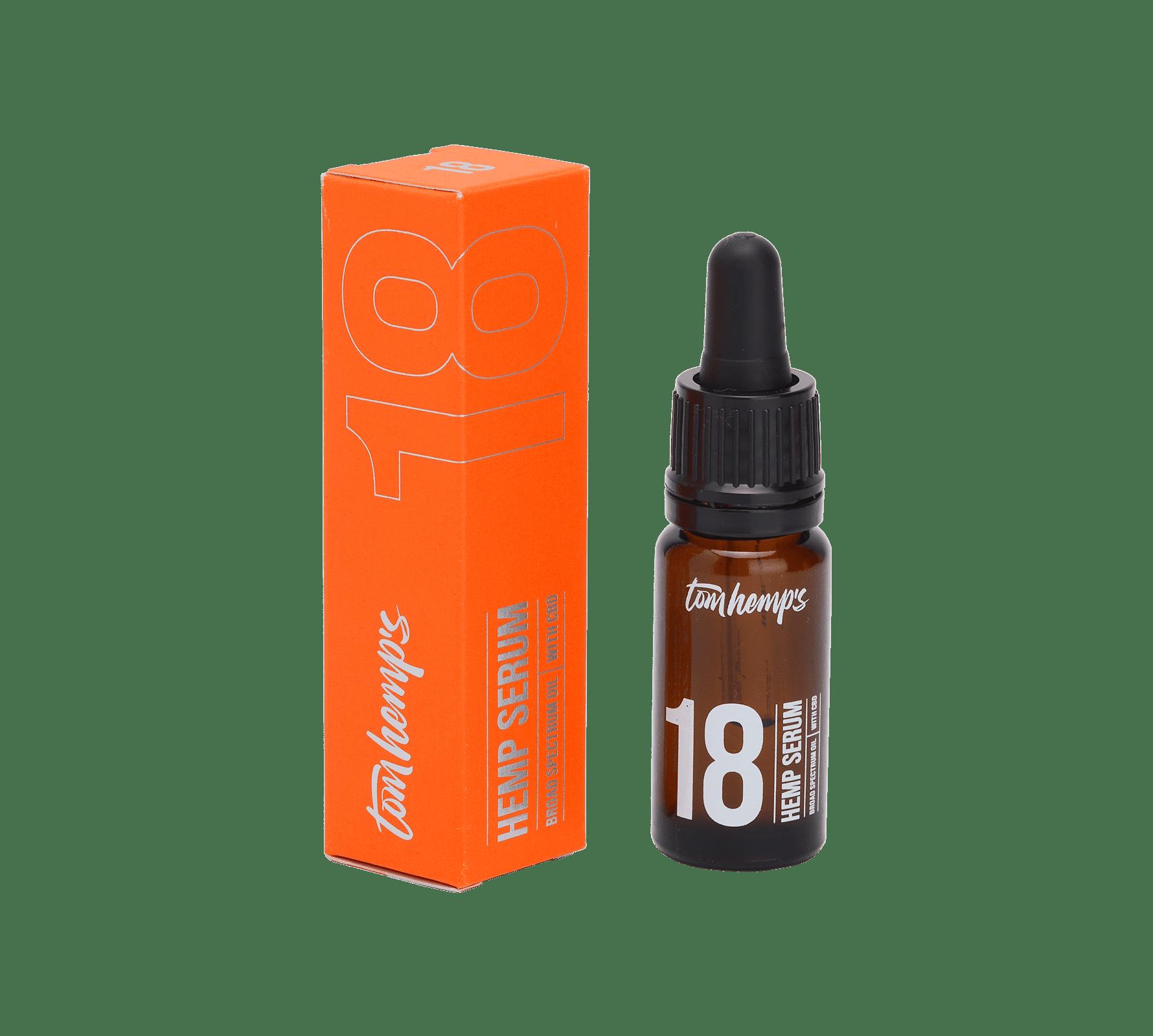 Tom Hemps Product Beauty Hemp Serum Bottle 18