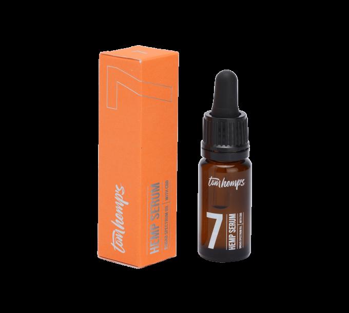 Tom Hemps Product All Beauty Hemp Serum Bottle 7%