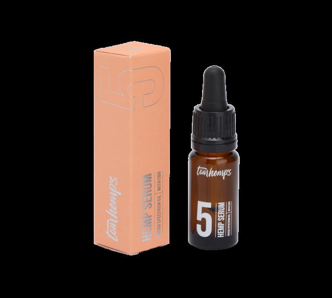 Tom Hemps Product Beauty Hemp Serum Bottle 5%
