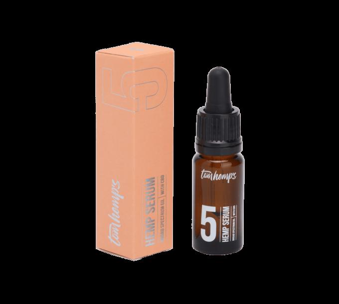 Tom Hemps Product Beauty Hemp Serum Bottle 5