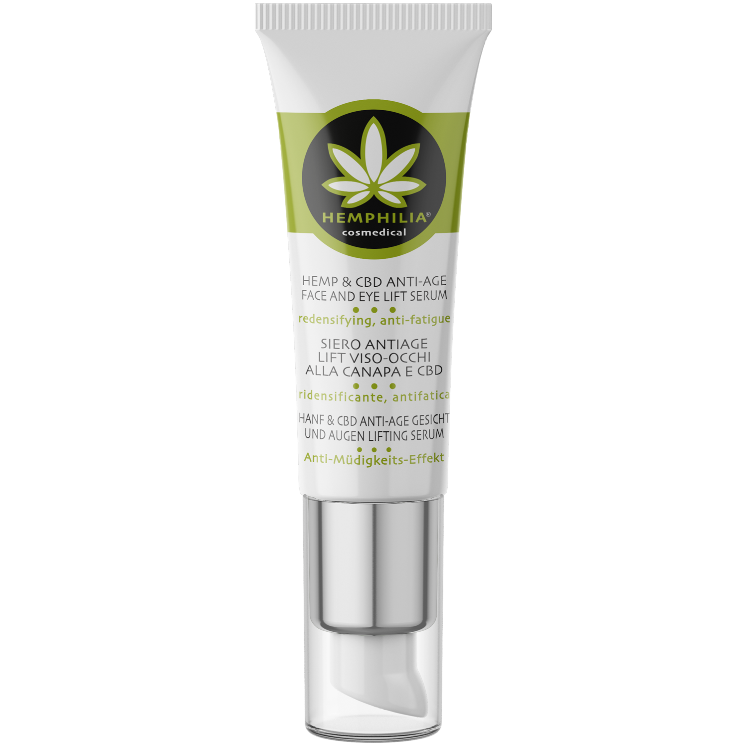 Hemp & Cbd Anti Age Face And Eye Lift Serum