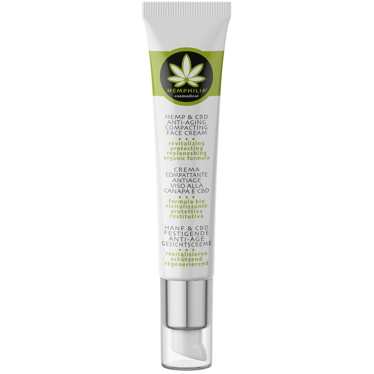 Hemp & CBD Anti-aging Compacting Face Cream