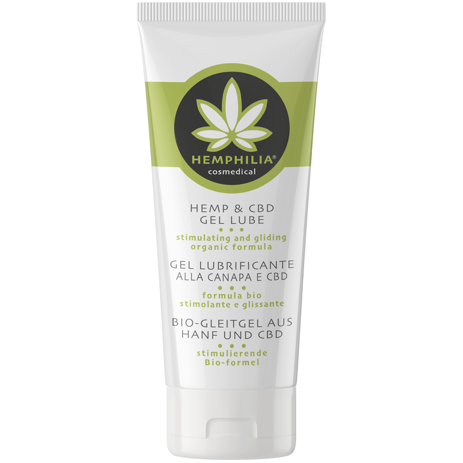HEMP & CBD GEL LUBE