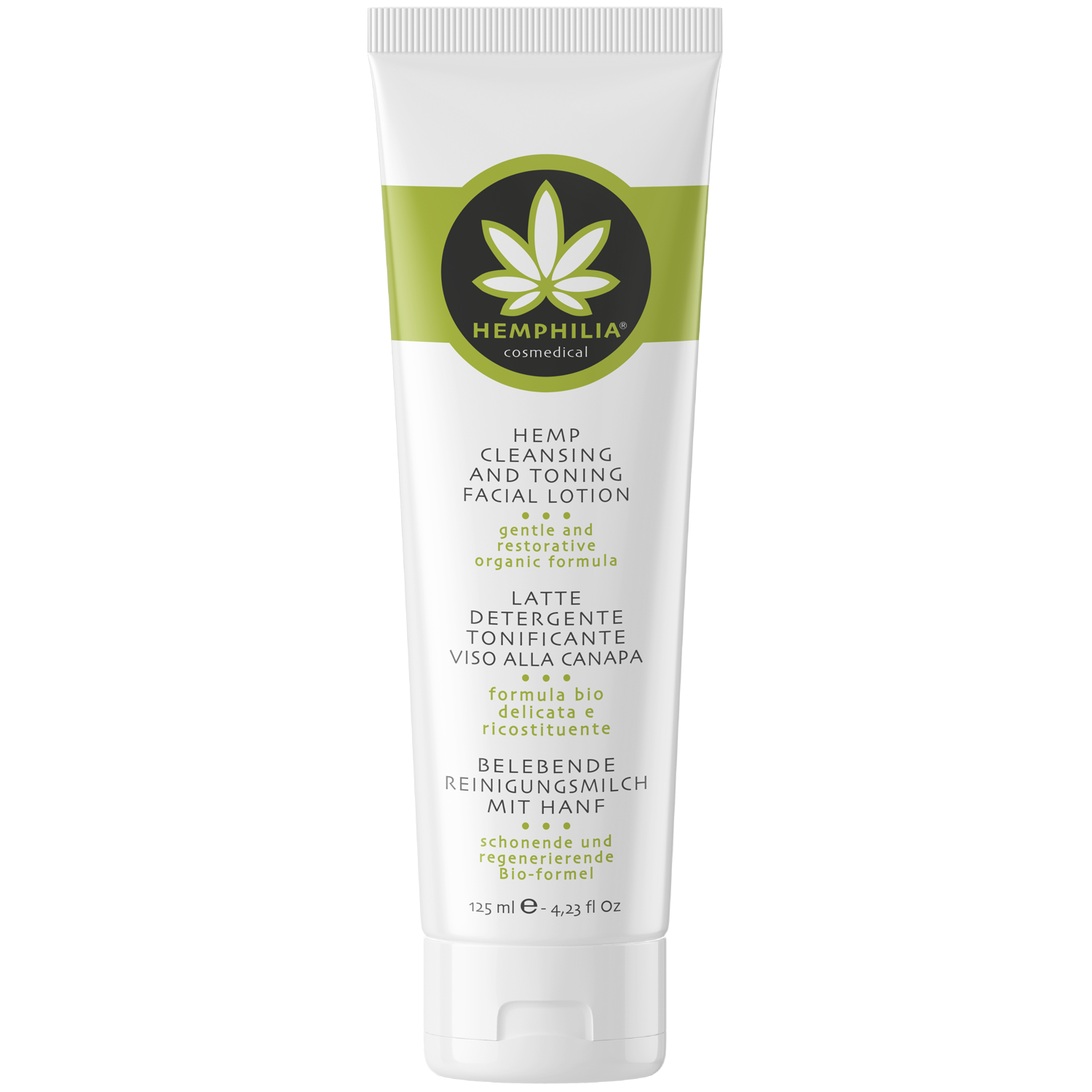 HEMP CLEANSING AND TONING FACIAL LOTION