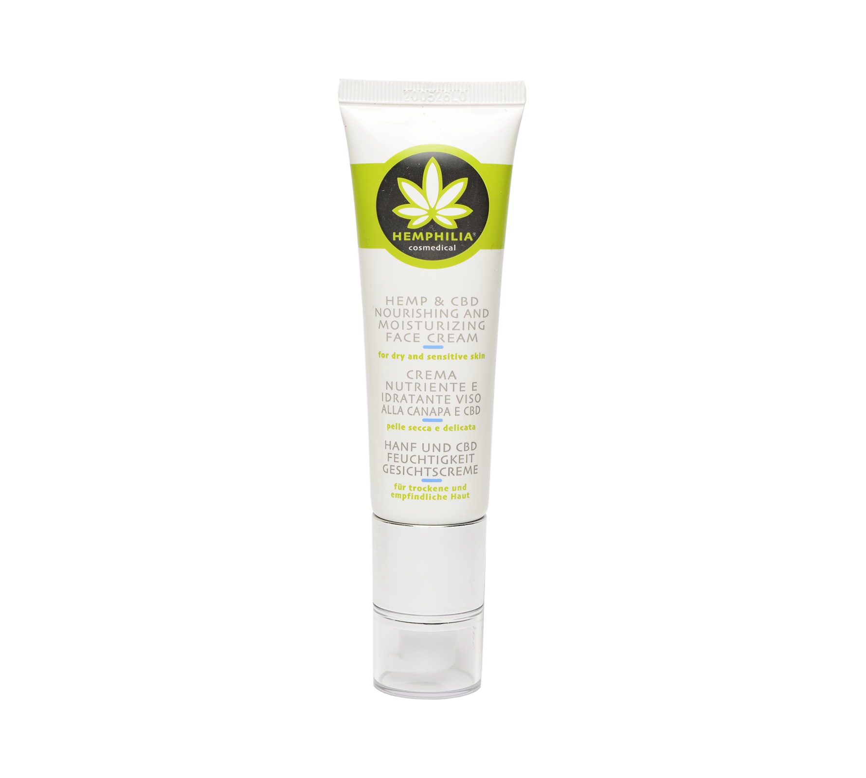 Hemp & CBD Nourishing and Moistuirizing Face Cream