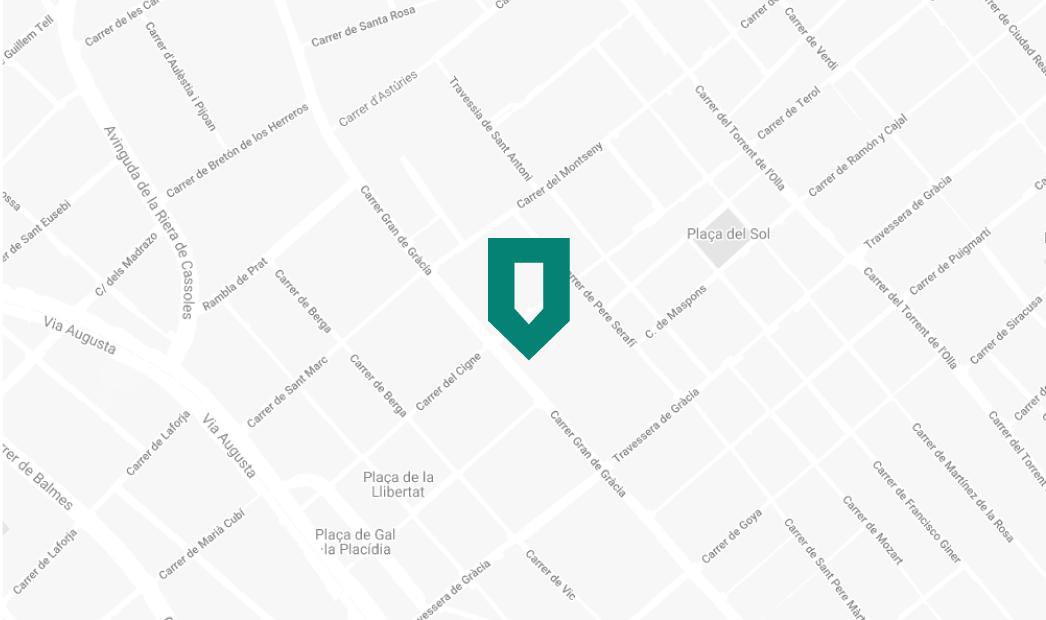 Barcelona Store Map